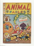 Golden Age (1938-1955):Funny Animal, Animal Fables #7 (EC, 1947) Condition: GD. Origin of Moon Girl,drawn by Sheldon Moldoff. Last issue of the title. Overstree...