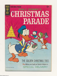 Christmas Parade #4 (Gold Key, 1966) Condition: VF. Carl Barks art (reprinted from earlier issues). Overstreet 2004 VF 8...