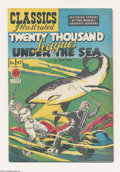 Golden Age (1938-1955):Classics Illustrated, Classics Illustrated #47 First Edition (Gilberton, 1948) Condition: Apparent VF+. Featuring Twenty Thousand Leagues Under th...