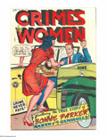 Golden Age (1938-1955):Crime, Crimes by Women #1 (Fox Features Syndicate, 1948) Condition: FN+. This first issue from Fox Features Syndicate features the ...
