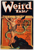 Pulps:Horror, Weird Tales - January 1937 (Popular Fiction) Condition: FN....