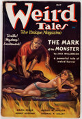 Pulps:Horror, Weird Tales - May 1937 (Popular Fiction) Condition: VG+....