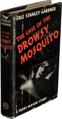 Erle Stanley Gardner. The Case of the Drowsy Mosquito. New York: William Morrow and Company, 19