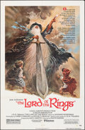 """Movie Posters:Animation, The Lord of the Rings (United Artists, 1978). Folded, Very Fine-. One Sheet (27"""" X 41"""") Tom Jung Artwork. Animation.. ..."""