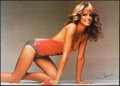 """Movie Posters:Miscellaneous, Farrah Fawcett (Los Angeles Magazine, 1977). Rolled, Very Fine. Personality Poster (20"""" X 28"""") John Cahoon Photography. Misc..."""