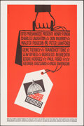 "Movie Posters:Drama, Advise & Consent (Columbia, 1962). Folded, Very Fine/Near Mint. One Sheet (27"" X 41"") Saul Bass Artwork. Drama.. ..."