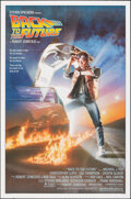 "Movie Posters:Science Fiction, Back to the Future (Universal, 1985). Folded, Very Fine+. One Sheet (27"" X 41"") Drew Struzan Artwork. Science Fiction.. ..."