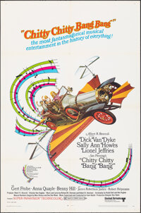 "Chitty Chitty Bang Bang (United Artists, 1969). Folded, Very Fine-. One Sheet (27"" X 41""). Fantasy"