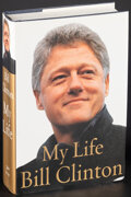 Movie Posters:Miscellaneous, My Life by Bill Clinton & Other Lot (Alfred A. Knopf, 2004). Very Fine. Autographed Hardcover Books (2) (Multiple Pages, 6.5... (Total: 2 Items)