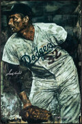 Movie Posters:Sports, Sandy Koufax by Stephen Holland (Harvest Productions, 2004). Very Fine-. Signed and Autographed Numbered Limited Edition Han...