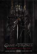 """Movie Posters:Fantasy, Game of Thrones: Season 1 (HBO, 2011). Rolled, Fine+. Bus Shelter (47"""" X 68"""") SS Advance. Fantasy.. ..."""
