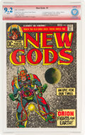 Bronze Age (1970-1979):Superhero, The New Gods #1 Verified Signature: Jack Kirby (DC, 1971) CBCS NM- 9.2 White pages....