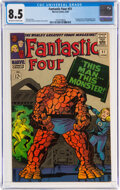 Silver Age (1956-1969):Superhero, Fantastic Four #51 (Marvel, 1966) CGC VF+ 8.5 Off-white to white pages....