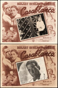 Movie Posters:Academy Award Winners, Casablanca (Warner Bros., R-1950s). Fine+. Mexican...
