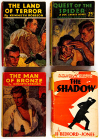 Doc Savage Vintage Hardcover Editions Group of 4 (Western Publishing, 1930-33) Condition: Average VF.... (Total: 4)
