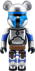 Collectible, BE@RBRICK X Lucas Films. Jango Fett 1000%, 2016. Painted cast resin. 28 x 13 x 9 inches (71.1 x 33 x 22.9 cm). No. 973. ...