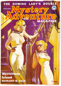 Mystery Adventures Magazine - November 1936 (Fiction Magazines) Condition: VG/FN