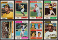 Baseball Cards:Sets, 1974 Topps Baseball Near Set (653/660) With Traded Near Set (42/44), Red Checklists (24), Washington Variations (3). ...