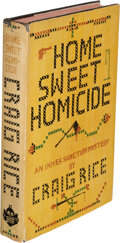 Books:Mystery & Detective Fiction, Craig Rice. Home Sweet Homicide. New York: Simon and Schuster, 1944. First edition....