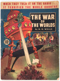 Magazines:Science-Fiction, The War of the Worlds #nn (Dell, 1938) Condition: VG-....