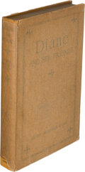 Books:Mystery & Detective Fiction, Arthur Sherburne Hardy. Diane and Her Friends. Boston: Houghton Mifflin, 1914. Signed and Inscribed by the author....