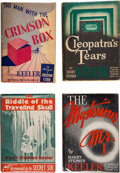 Books:Mystery & Detective Fiction, Harry Stephen Keeler. Group of Four Mysteries. E. P. Dutton & Co., [1934]-1940. First editions.... (Total: 4 Items)