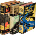 Books:Mystery & Detective Fiction, Van Wyck Mason. Group of Three Hugh North Mysteries. Garden City: Published for the Crime Club, Inc., 1933-1935. First editi... (Total: 3 Items)