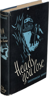 Christiana Brand. Heads you Lose. London: The Bodley Head, 1941. First edition