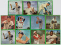 Baseball Cards:Sets, 1964 Auravision Baseball Records Complete Set (16) With Extras. ...
