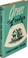 Books:Mystery & Detective Fiction, Christiana Brand. Green for Danger. London: John Lane, The Bodley Head, [1945]. First UK edition. Signed and inscr...