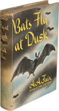 Books:Mystery & Detective Fiction, [Earle Stanley Gardner]A. A. Fair, pseudonym. Bats Fly at Dusk. New York: William Morrow and Company, 1942. First ed...
