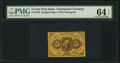 Fractional Currency:First Issue, Fr. 1230 5¢ First Issue PMG Choice Uncirculated 64 EPQ.