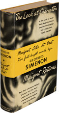 Books:Mystery & Detective Fiction, Georges Simenon. Maigret Sits It Out. New York: Harcourt, Brace and Company, [1941]. First American edition. ...