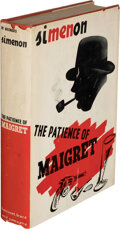 Books:Mystery & Detective Fiction, Georges Simenon. The Patience of Maigret. New York: Harcourt, Brace and Company, [1940]. First American edition. ...