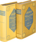 Books:Mystery & Detective Fiction, John P. Marquand. Two Copies of Ming Yellow. Boston: Little, Brown and Company, 1935. First editions. One copy with ... (Total: 2 Items)