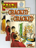 Magazines:Mad, Mad, Cracked, and Crazy Group (EC, 1973-75) Condition: Average VF.... (Total: 9)