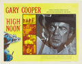 "Movie Posters:Western, High Noon (United Artists, 1952). Half Sheet (22"" X 28"") Style A.Gary Cooper gave an Oscar winning performance as a marshal..."