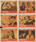"""Movie Posters:Hitchcock, Vertigo (Paramount, 1958). Lobby Cards (6) (11"""" X 14""""). One ofAlfred Hitchcock's absolute classics found James Stewart obse...(Total: 6 Items)"""