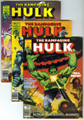 Magazines:Superhero, The Rampaging Hulk #1-9 Group (Marvel, 1977-78) Condition: AverageVF/NM.... (Total: 10)