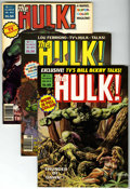 Magazines:Superhero, Hulk Group (Marvel, 1978-80) Condition: Average NM.... (Total: 9)