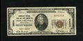 National Bank Notes:Pennsylvania, Philadelphia, PA - $20 1929 Ty. 1 The Commercial NB & TC Ch. # 3604. This bank would exit the banking stage on May 22, 1...