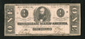 Confederate Notes:1862 Issues, T55 $1 1862. Dark signatures are found on this Very Fine Ace....