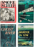 Books:Mystery & Detective Fiction, Christopher Hale. Group of Four Lieutenant Bill French Mysteries. New York and Garden City: [various publishers,] [1935]-[19... (Total: 4 Items)