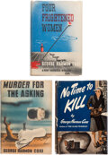 Books:Mystery & Detective Fiction, George Harmon Coxe. Group of Three Novels by George Harmon Coxe. New York: Alfred A. Knopf, [1939]-[1941]. First editions.... (Total: 3 Items)