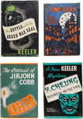 Books:Mystery & Detective Fiction, Harry Stephen Keeler. Group of Four Mysteries. E. P. Dutton & Co., [1934]-1940. Including three first editions.... (Total: 4 Items)