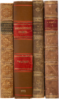 "[William Russell] ""Waters."" Group of Four Victorian Detective Novels. London: [Various publishers], 1859-1862..."