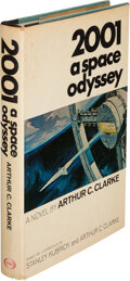 Books:Science Fiction & Fantasy, Arthur C. Clarke. 2001, A Space Odyssey. Based on a Screenplay by Stanley Kubrick and Arthur C. Clarke. [New Yor...