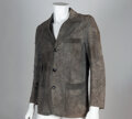 Textiles, Rei Kawakubo (Japanese, b. 1942) and Comme des Garçons (Japanese, founded 1973). Distressed Single-Breasted Jacket, 2002...