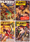 Pulps:Science Fiction, Planet Stories Group of 16 (Fiction House, 1942-55).... (Total: 16 Items)