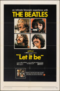"Movie Posters:Rock and Roll, Let It Be (United Artists, 1970). Folded, Fine/Very Fine. One Sheet (27"" X 41""). Rock and Roll.. ..."